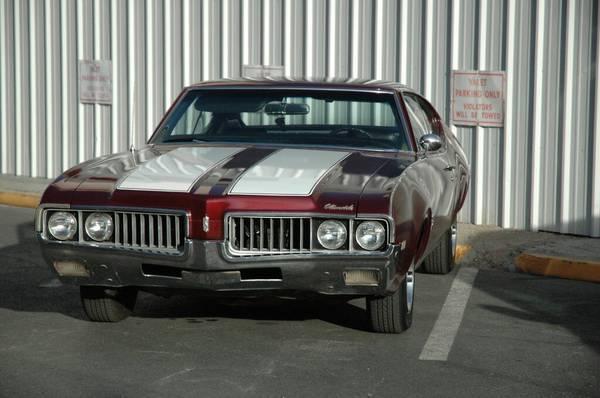 Classic 1969 Cutlass S