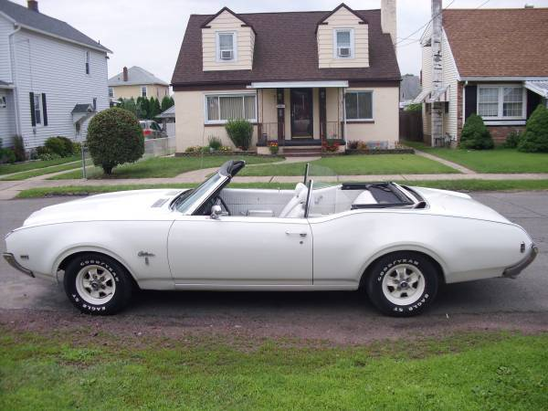 1969 Cutlass S Convertible
