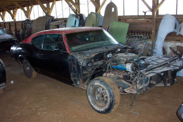 1972 Olds 442 W-30 X-code project