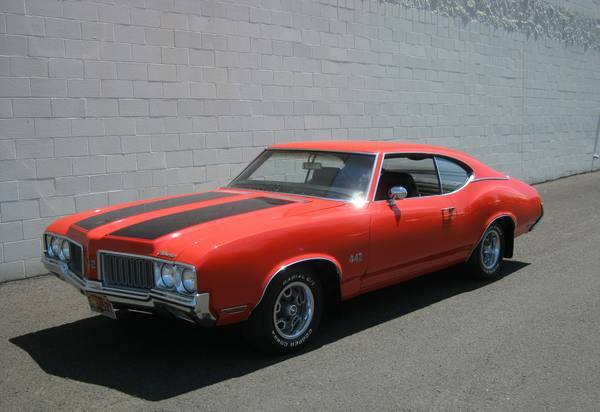Rare 4-Speed Muscle Car, 1970 442
