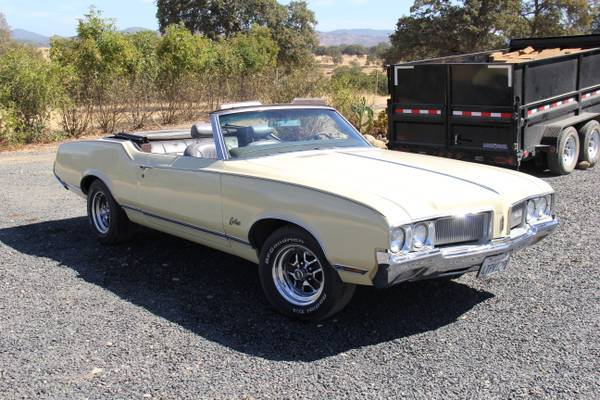 1970 Cutlass Supreme Convertible