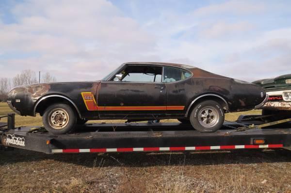 1969 Olds 442 2dr Hardtop