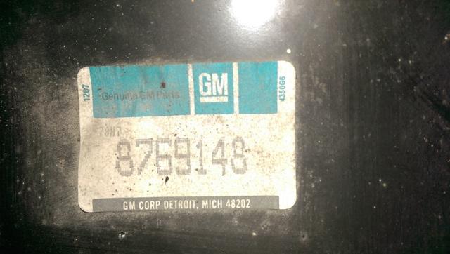 1972 OEM rear quarters