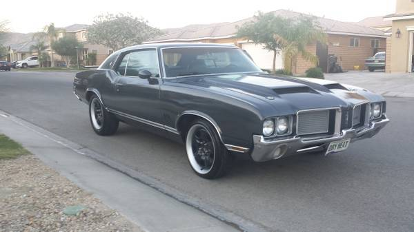 1972 olds cutlass supreme indio ca oldsmobilecentral com