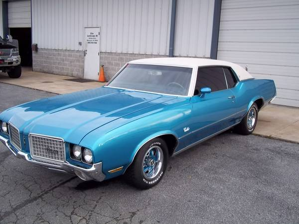 1972 Cutlass Supreme Wilmington De