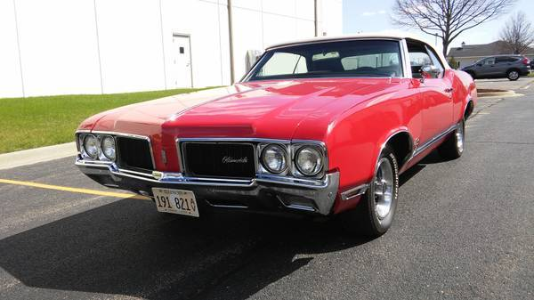 1970 Cutlass Convertible