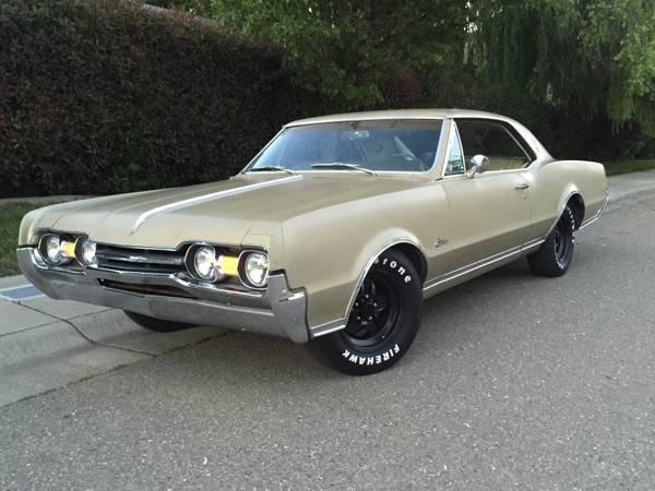1967 Olds Cutlass Supreme Sacramento Ca