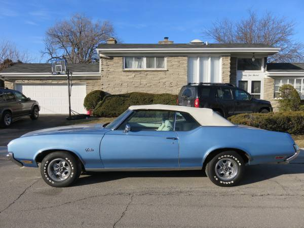 1972 Cutlass Supreme Convertible Chicago Il