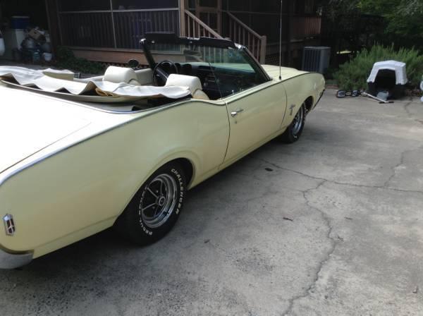 1969 Cutlass S Convertible