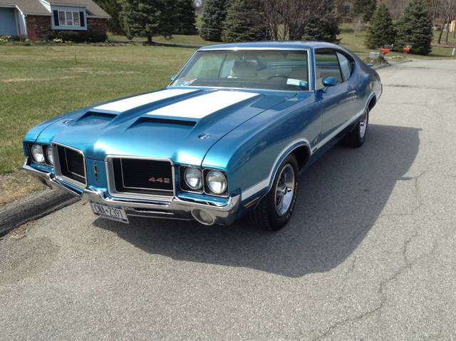 1972 oldsmobile 442 w30 project rush ny