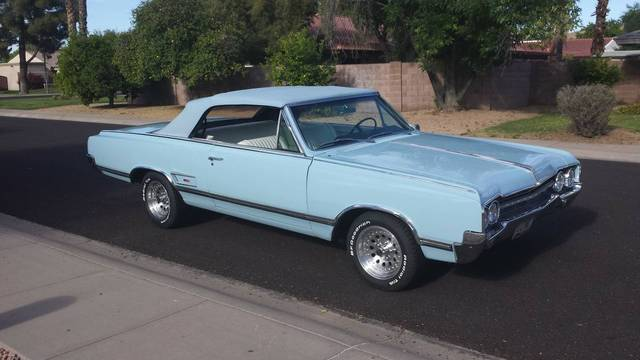 1965 Oldsmobile Cutlass Convertible Olds 442
