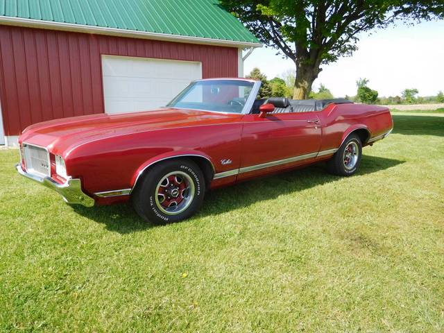 1971 Olds Cutlass Supreme Convertible