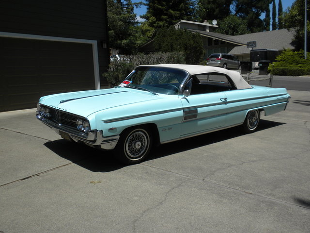 1962 Olds 98 Convertible