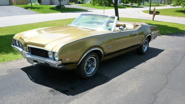 1969 Olds 442 Convertible