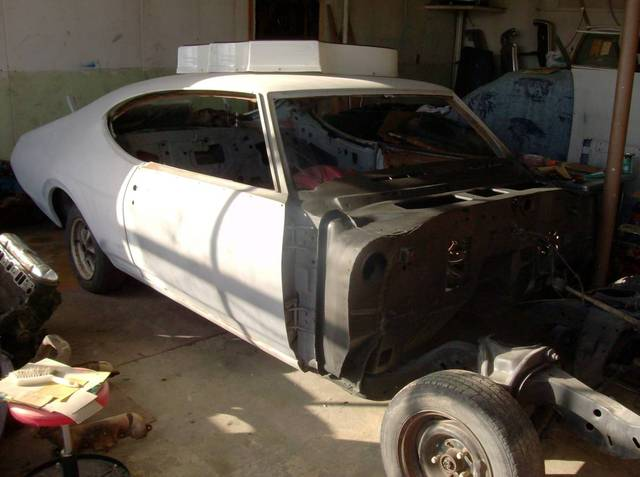 1968 Hurst/Olds With Factory A/C Project