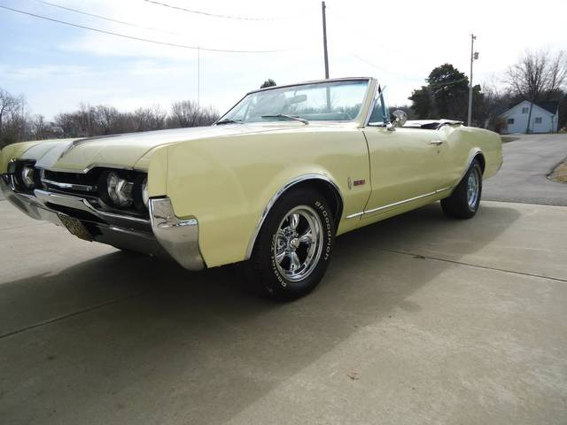 1967 Cutlass Convertible