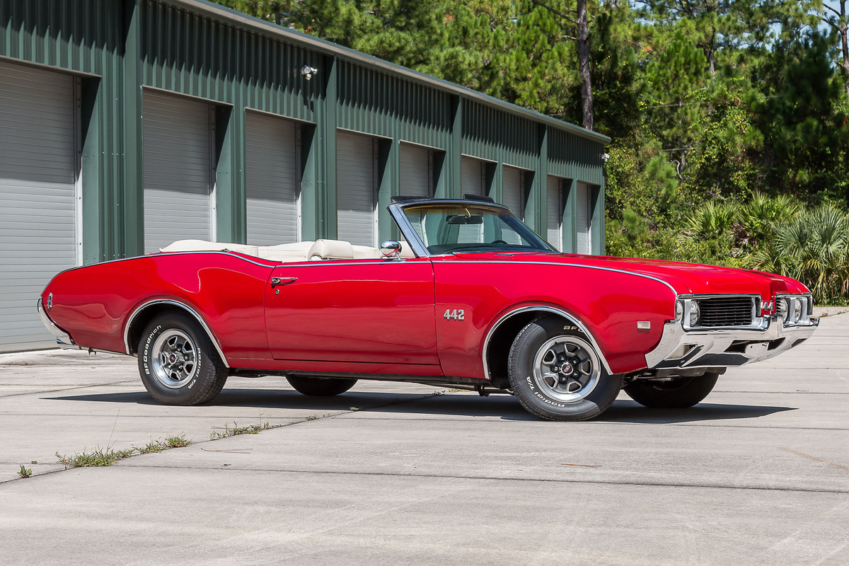 1969 Oldsmobile Cutlass 442 Convertible Many Other Olds For Sale