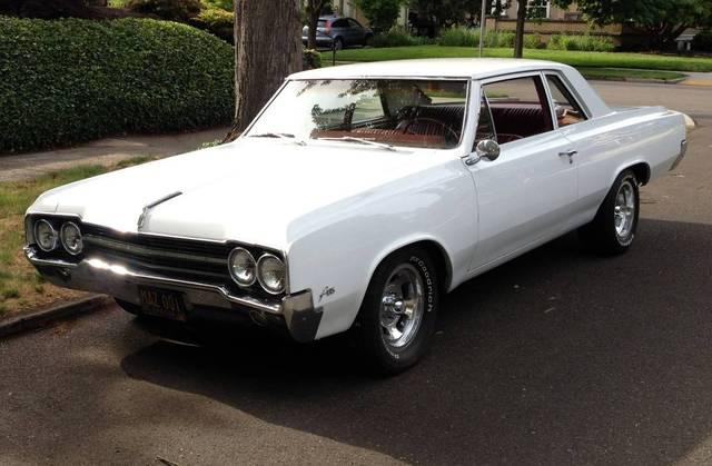 1965 Olds F-85 post 455 4 speed