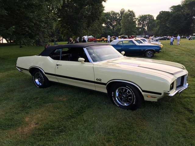 1972 442 Oldsmobile W29 Cutlass
