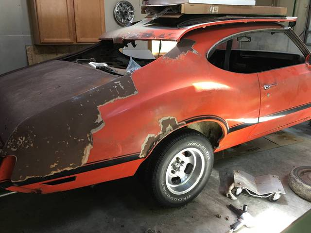 1970 Oldsmobile 442 W-30 major  project