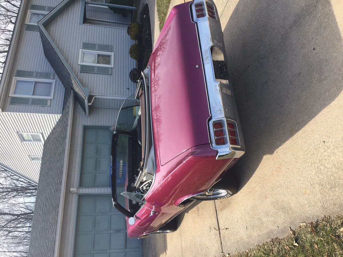 Powered By 1974 Oldsmobile Cutlass Supreme Purple Cow Classifieds