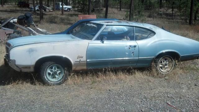 1970 Cutlass S Project
