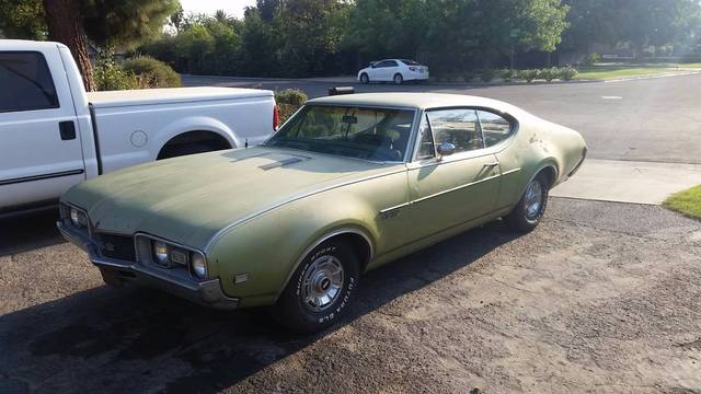 1968 Olds 442 Muscle Car
