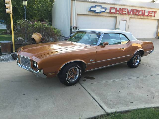 1972 Cutlass Convertible