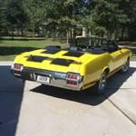 1972 442 4 Speed Cutlass Convertible