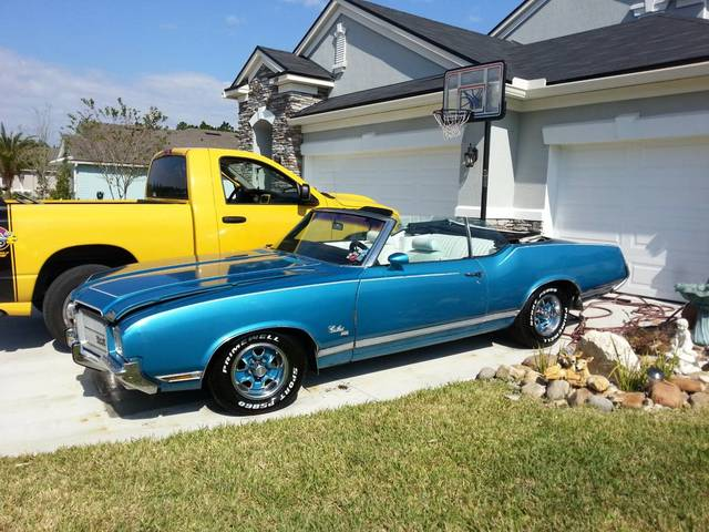 1971 Olds Cutlass SX Convertible