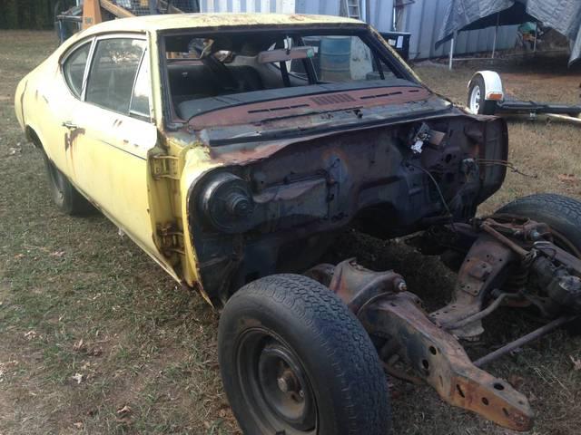 1970 Cutlass Ralley 350 4 speed parts car