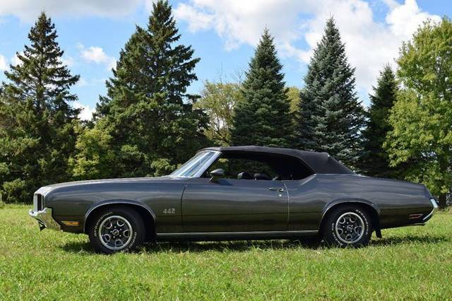 1972 cutlass Oldsmobile 442