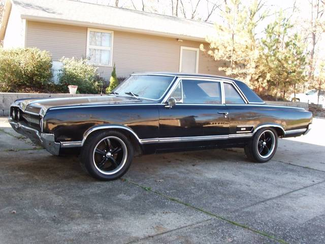 1965 Olds 442 4 Speed Coupe