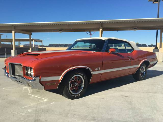 1972 Oldsmobile 442 Convertible