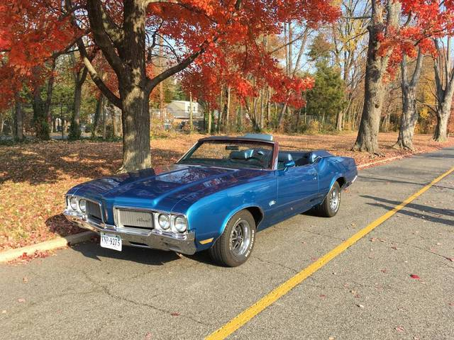 1970 Olds Cutlass Convertible 455 Rocket