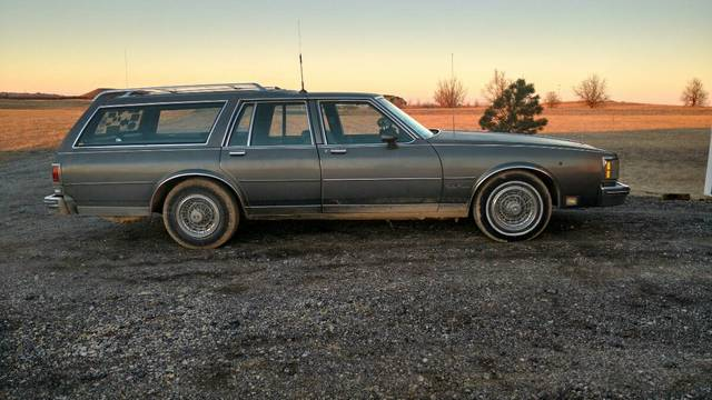 1986 Oldsmobile Sleeper Wagon