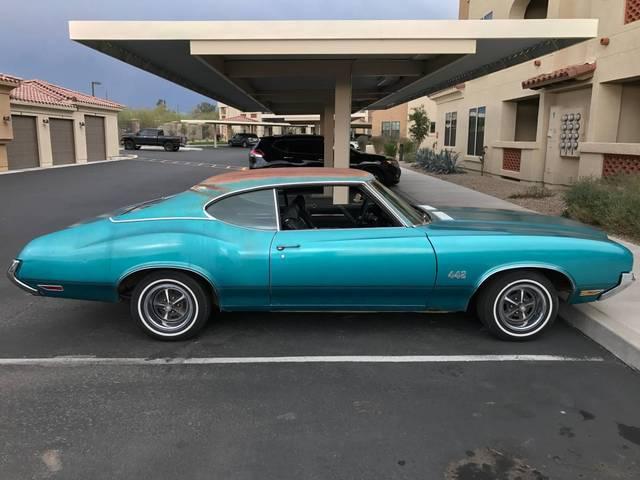 1970 Olds 442 4 Speed Unrestored Survivor