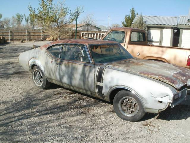 1968 Oldsmobile 442 Project