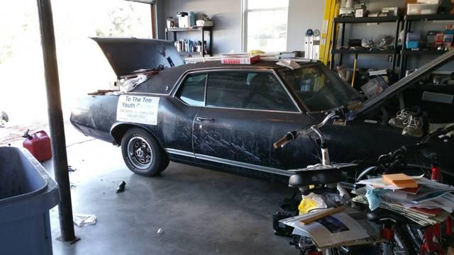 1970 Cutlass SX Triple Black