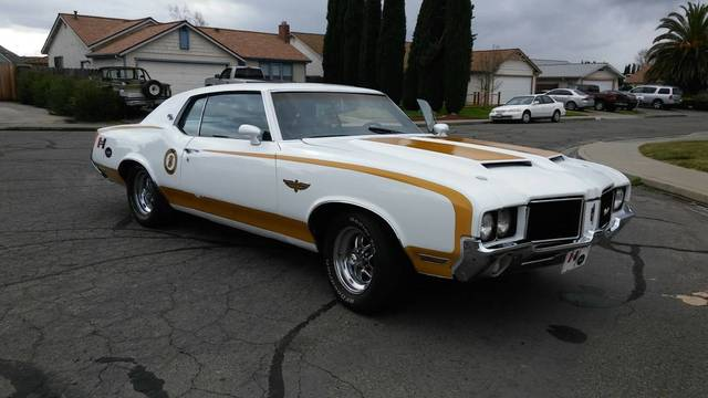 1972 Olds Cutlass Hurst Olds Pace Car Tribute