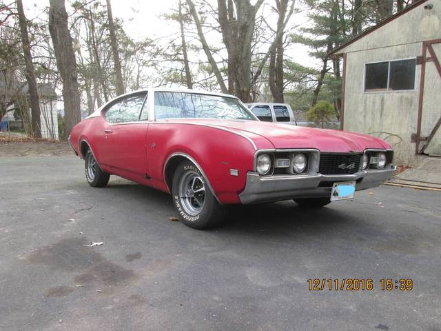 1968 Olds 442 Project