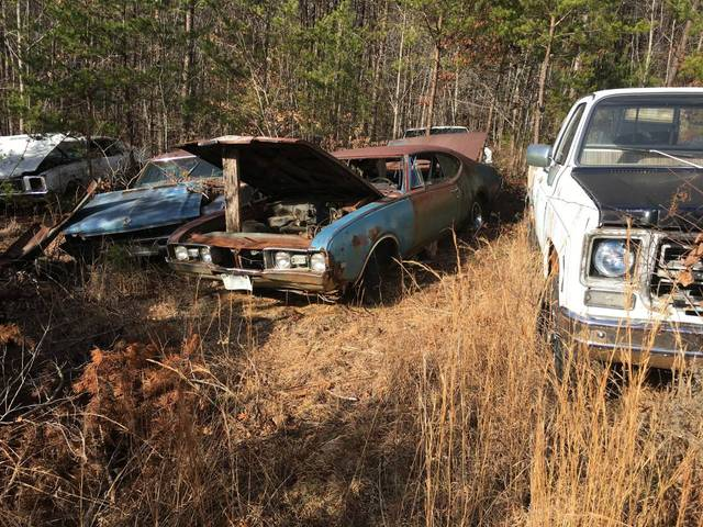1968 Oldsmobile 442 Parts Car