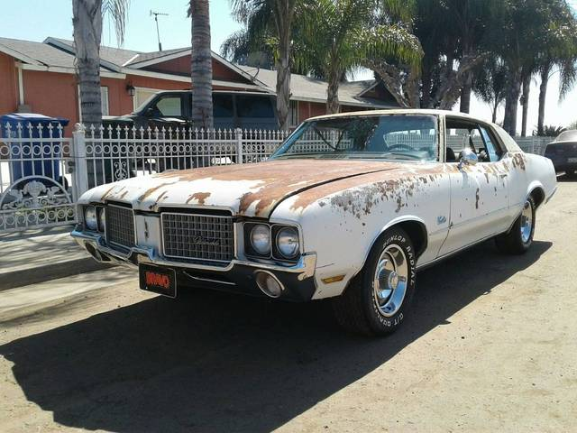 1972 Oldsmobile Cutlass Supreme Project