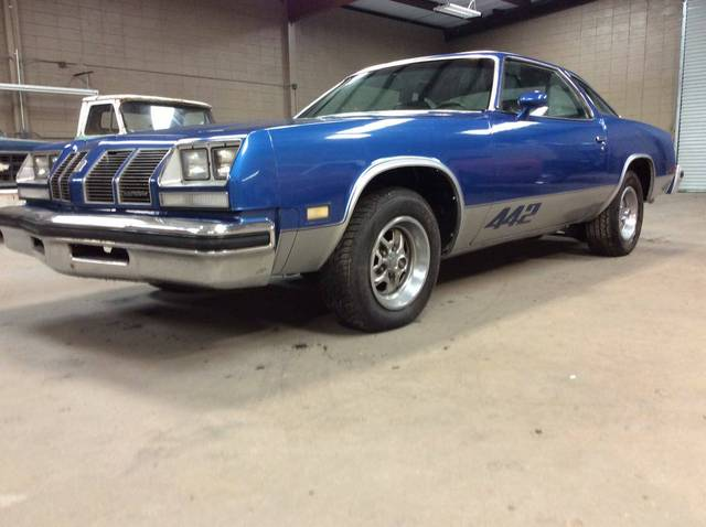1977 Oldsmobile Cutlass 442