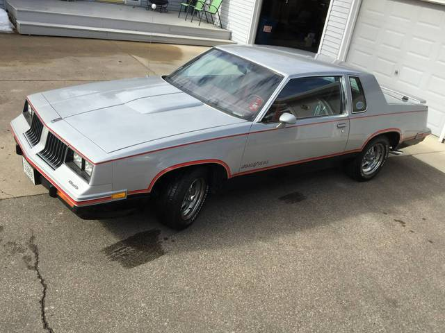 Original 1984 Hurst Olds