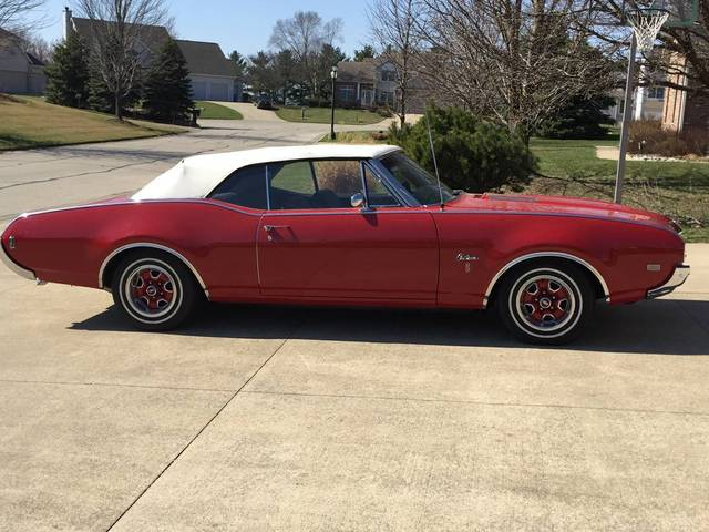 1968 Olds Cutlass Convertible