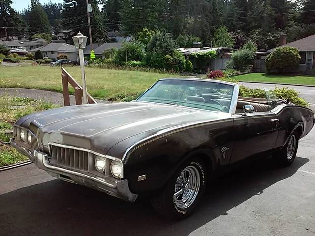 1969 Cutlass S Convertable