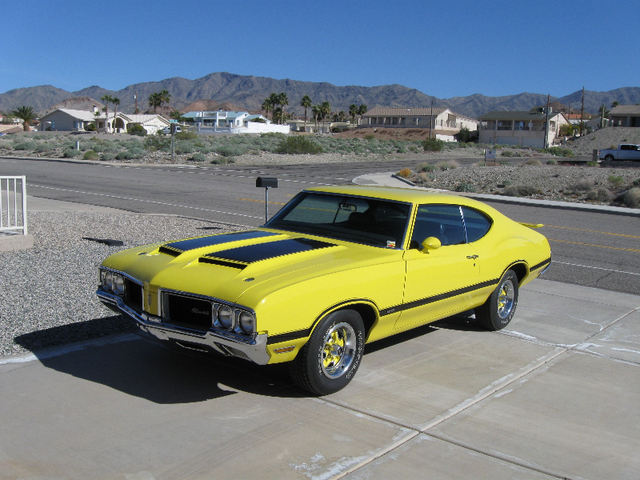 1970 Olds Cutlass W31 Tribute