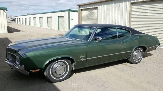 All original 1970 Cutlass S