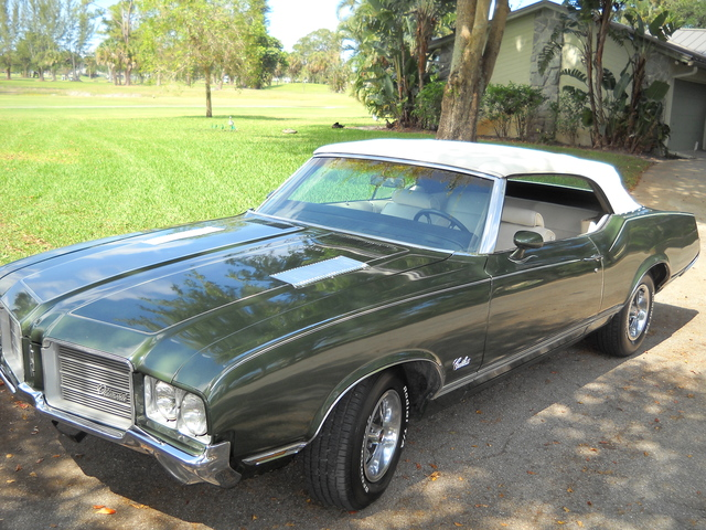 CALIFORNIA CAR RUST FREE! 1971 CUTLASS CONVERTIBLE